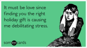 shopping stress